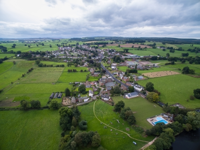 Aerial View of Lazonby